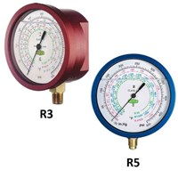Manometer for servicemanifold - Refco