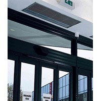 Compact 2 range for skjult loft montering el-opvarmet - Thermoscreens